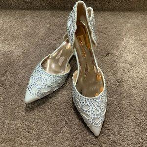 Women Low heel  D'Orsay Wedding Pumps